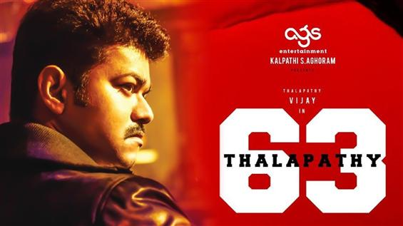 Thalapathy 63 First Look for Vijay's birthday?