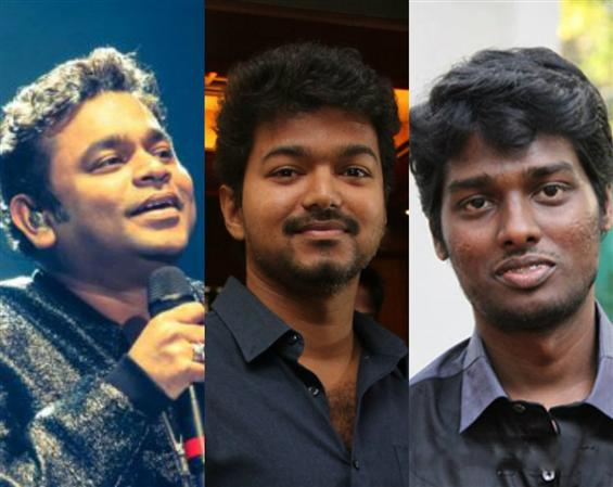 Thalapathy 63 producers confirm Vijay, Atlee, A.R....