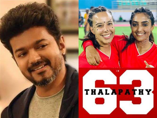 Thalapathy 63: Set Images feat. Vijay, indhuja, Reba Monica John go viral!