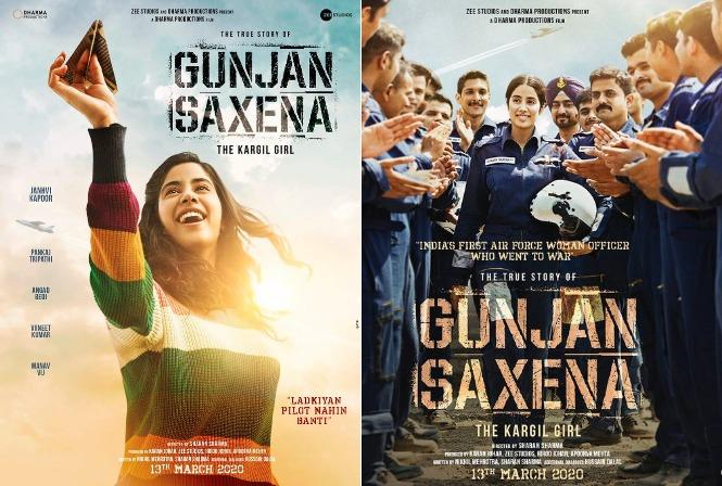 The Kargil Girl: First Look of Janhvi Kapoor as Gunjan Saxena