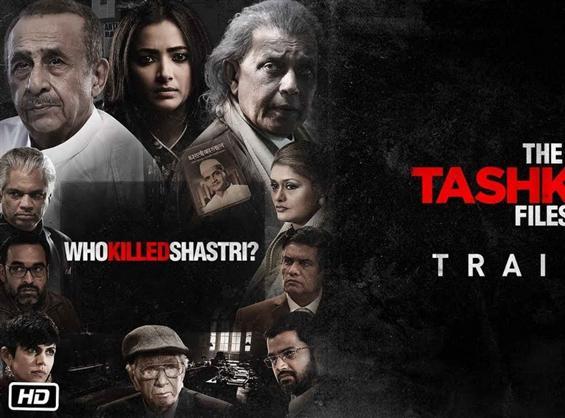 The Tashkent Files Trailer