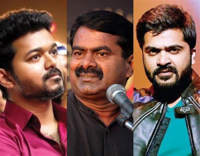 'Thief-man-Seeman' trends after the director bashes Vijay & calls Simbu the next Superstar!