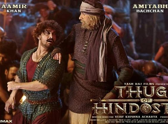 Thugs of Hindostan crosses Rs. 50 crore mark on Da...