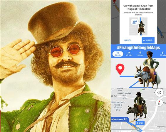 Thugs of Hindostan: Firangi aka Aamir Khan is now your Google Maps Guide!