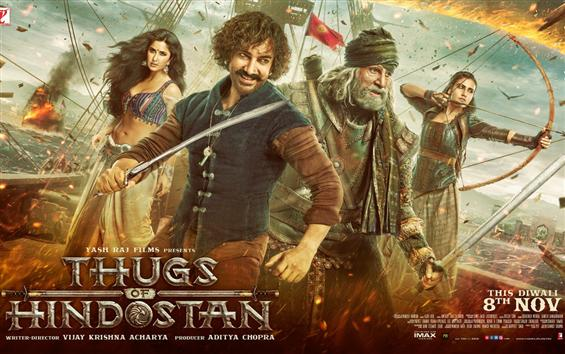 Thugs of Hindostan First Look Poster, Trailer laun...