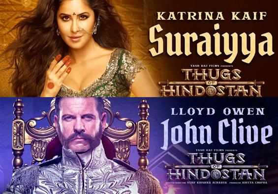 Thugs of Hindostan: Katrina Kaif as Suraiyya, Llyod Owen as John Clive!