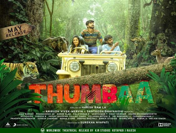 Thumbaa First Look feat. Darshan, Keerthana Pandian