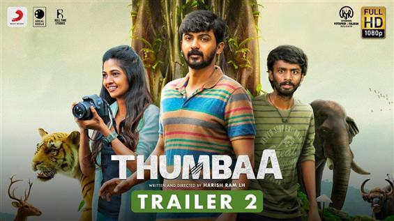 Thumbaa: Trailer No. 2 Released for Darshan, Keerthana Pandian starrer!