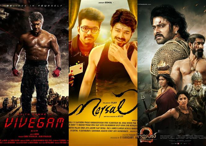 Top 5 Tamil Box-Office grossers of 2017