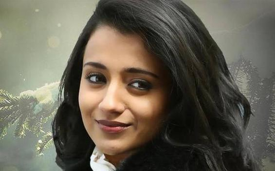 Trisha begins shooting for a film titled  Paramapadham Vilayattu