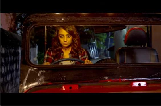 News Image - Trisha on-the-road in Garjanai Trailer! image