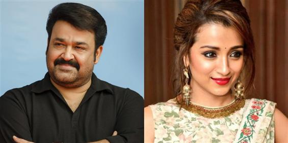 Trisha to pair opposite Mohanal in Jeethu Joseph's...
