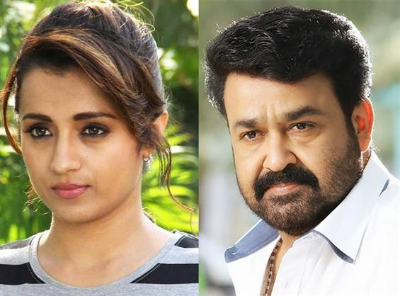 Trisha to team up with Mohanlal in Jeethu Josep's ...