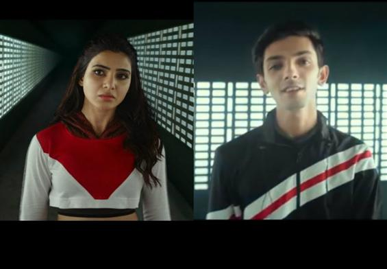 U Turn Video Song feat. Samantha, Anirudh Ravichander