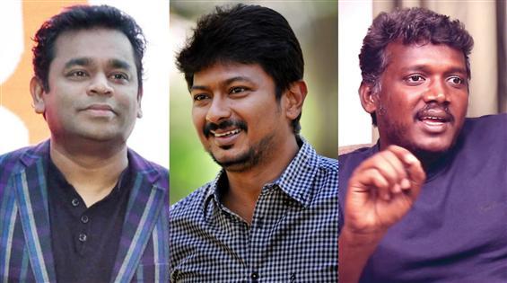 Udhayanidhi Stalin to team up with AR Rahman, Mari...