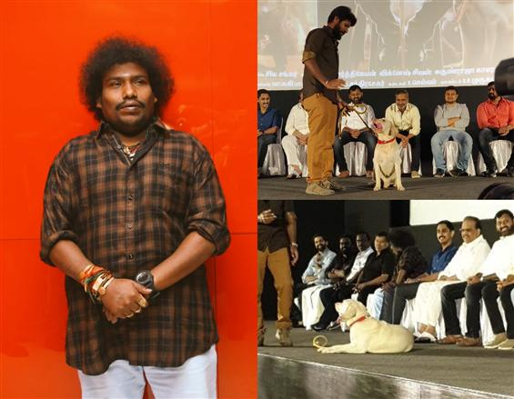 Undertaker shares spotlight with Yogi Babu at Gurkha Audio Launch