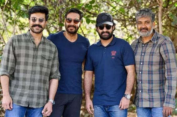 Update on Rajamouli's RRR! Jr. NTR to have a first...