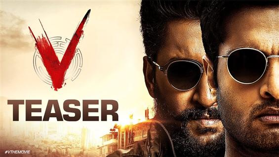 V Movie Teaser: Nani looks menacing in this cat-an...