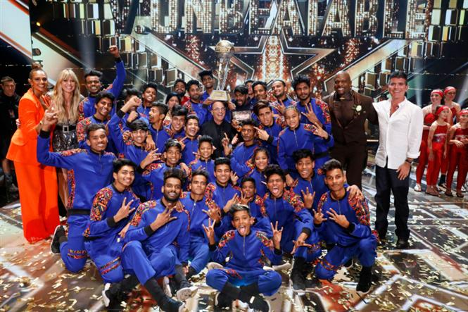 V. Unbeatable make India proud by winning AGT Championship!