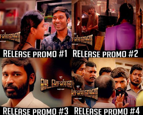 Vada Chennai Release Promo Videos feat. Dhanush, A...