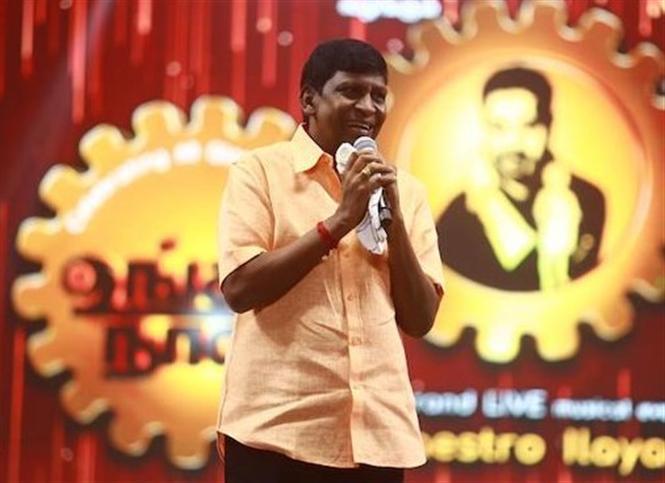 Vadivelu's speech at Kamal 60 wins audience! Vaigai Puyal fans Rejoice!