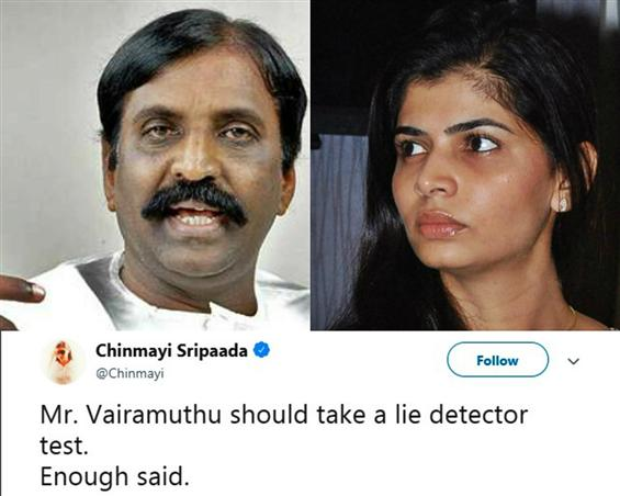 Vairamuthu says MeToo allegations against him are ...