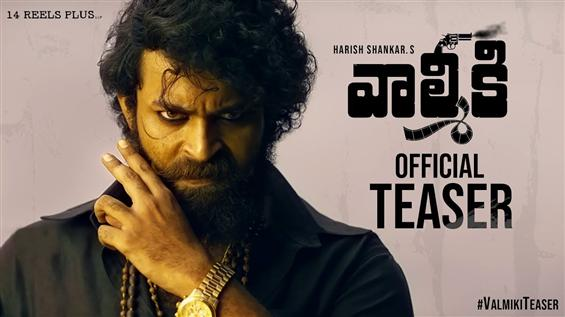 Valmiki Teaser: Varun Tej looks terrific as a gangster