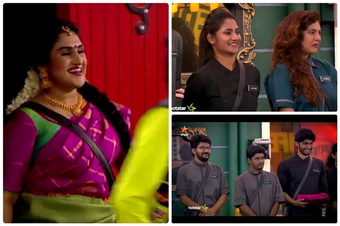 Vanitha Vijaykumar is back into Bigg Boss House