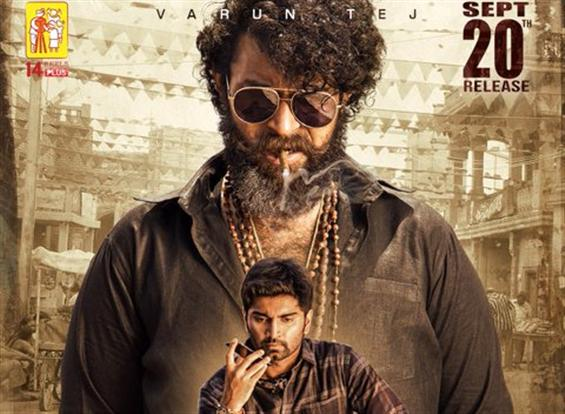 Varun Tej's 'Valmiki' averts clash with Nani's 'Gang Leader', gets new release date!