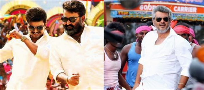 Veeram vs Jilla - Kerala, Karnataka Box Office