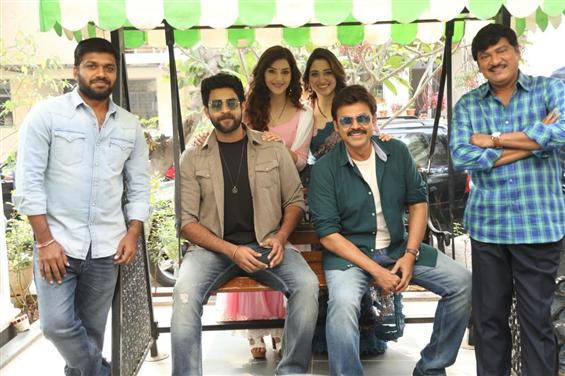 Venkatesh, Varun Tej starrer F2 nears completion!