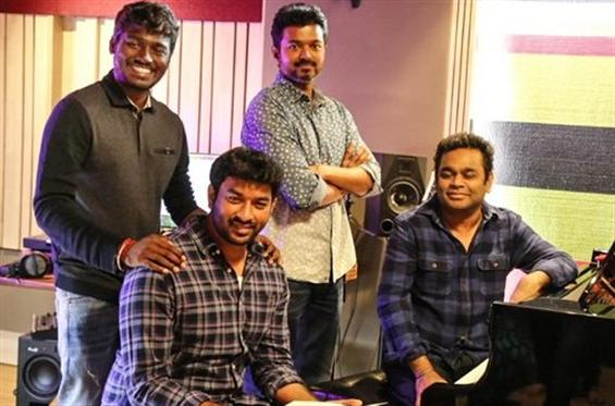 'Verithanam' ana update for Vijay fans! Thalapathy croons for Bigil Single!