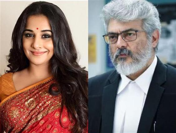 Vidya Balan opens up about playing Ajith's wife in Nerkonda Paarvai
