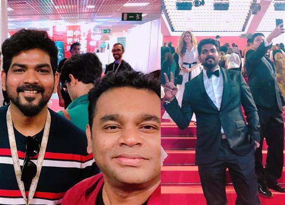 Vignesh ShivN, A.R. Rahman grace Cannes Film Festi...