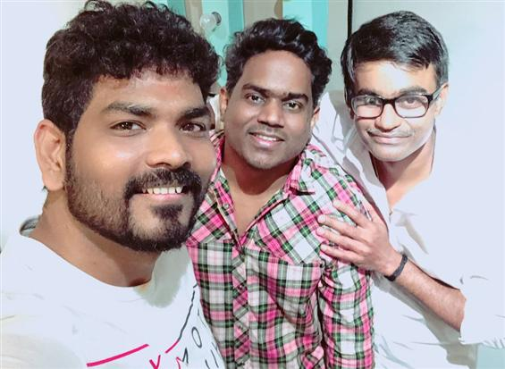 Vignesh Shivn pens a song for Suriya