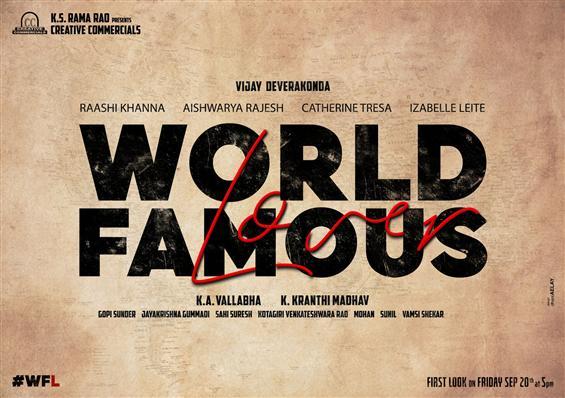 Vijay Devarakonda - Kranthi Madhav film gets a tit...
