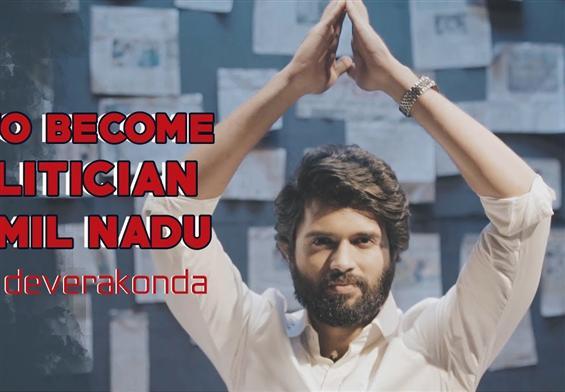 Vijay Devarakonda's new 'NOTA' promo takes a dig at TN politicians