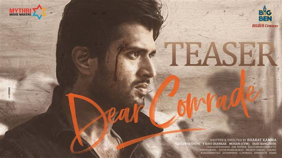 Vijay Deverakonda's Dear Comrade Teaser