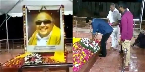 Vijay returns to Chennai, pays homage to Kalaignar...