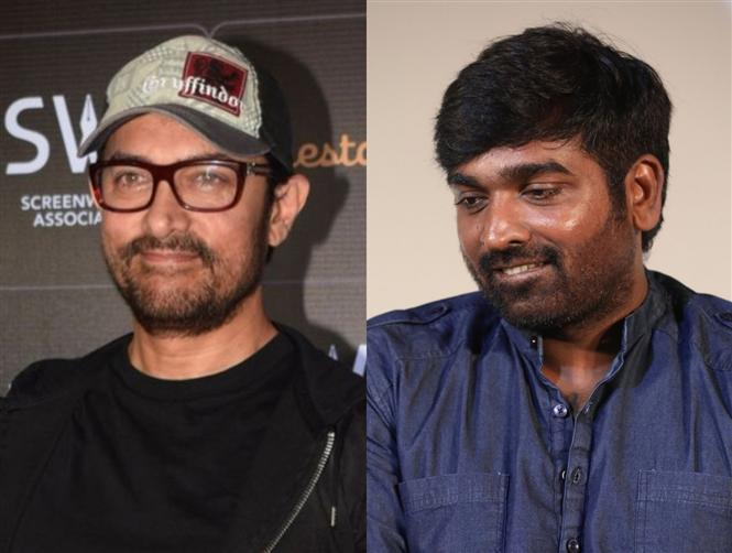 Vijay Sethupathi confirms film with Aamir Khan!