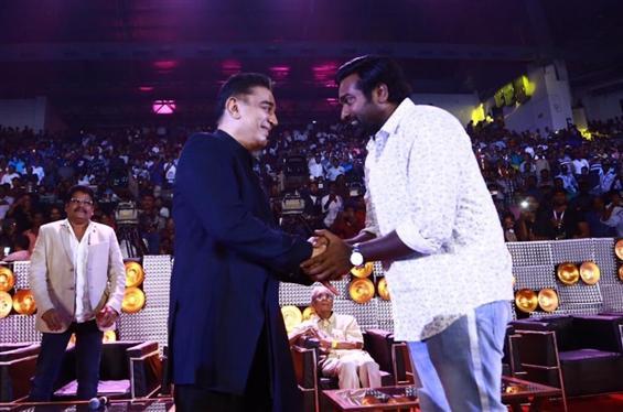 Vijay Sethupathi opens up on working with Kamal Ha...