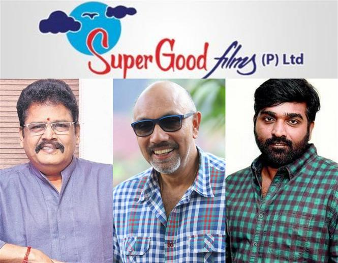 Vijay Sethupathi, Sathyaraj in a KS Ravikumar movie with Super Good Films!