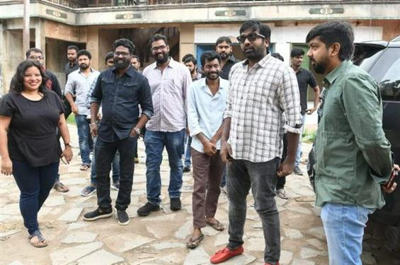 Vijay Sethupathi starts shooting for his second Te...