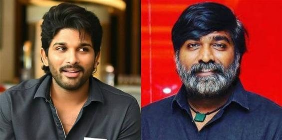 Vijay Sethupathi to lock horns with Allu Arjun in ...
