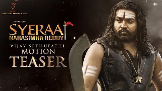 Vijay Sethupathi's motion poster from Sye Raa Nara...