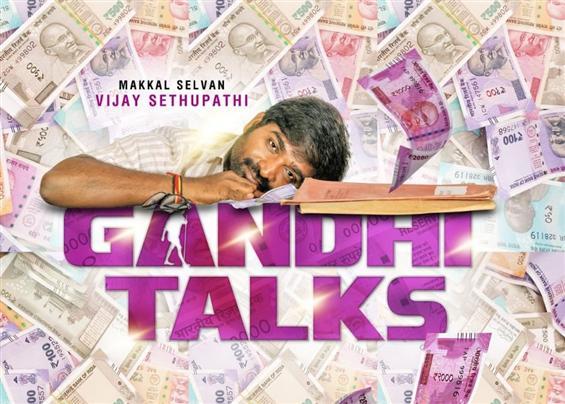 Vijay Sethupathi's next titled Gandhi Talks! To be...