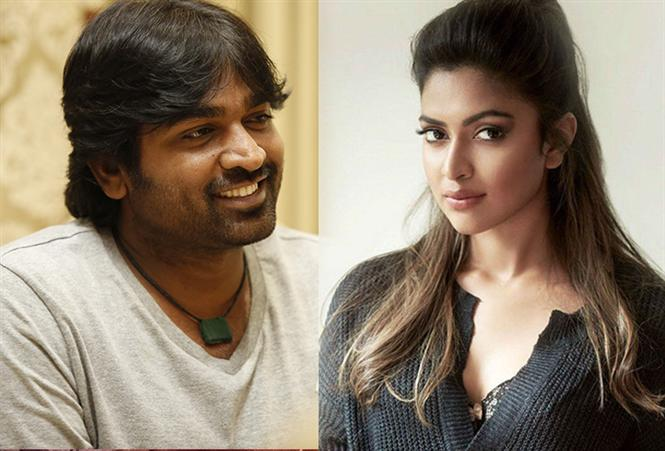 Vijay Sethupathy, Amalapaul to pair up for the first time