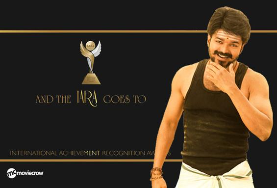 Vijay wins the 'Best International Actor' award at...