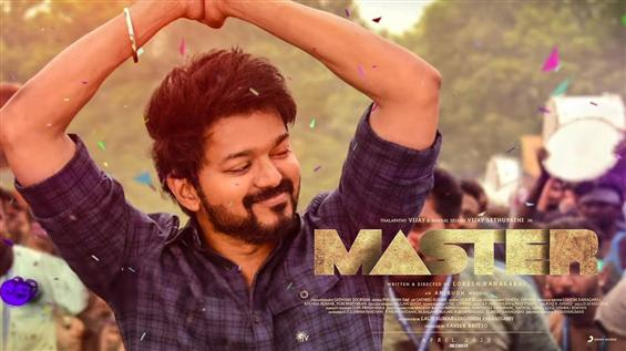 Vijay's Master in progress again! Team begins post-production!