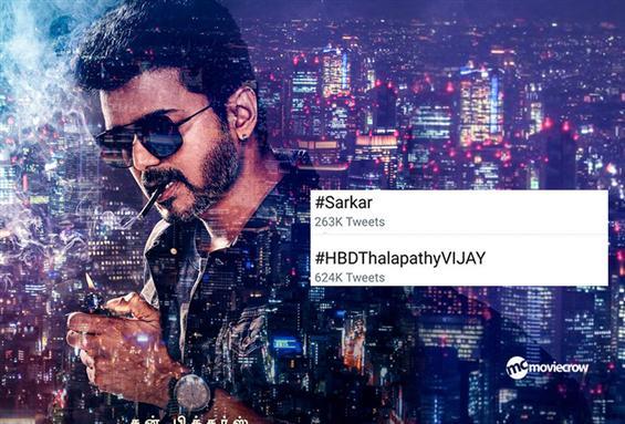 Vijay's Sarkar becomes a top trend on Twitter!